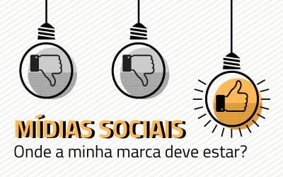Em qual mídia social minha marca deve estar?