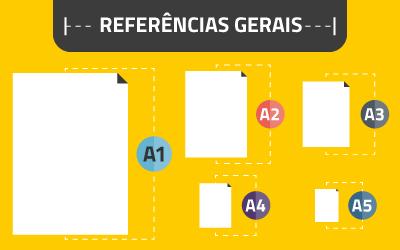 Referências de design: tamanho do papel e outras coisas
