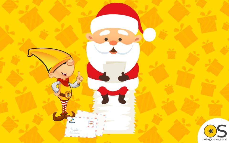 Você já ouviu falar do Papai Noel dos Correios?