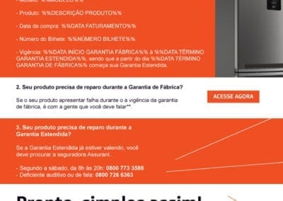 E-mail Marketing - Garantia Estendida Brastemp