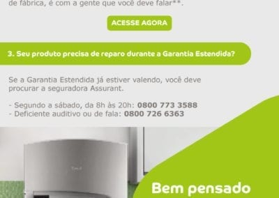 E-mail Marketing - Garantia Estendida Consul