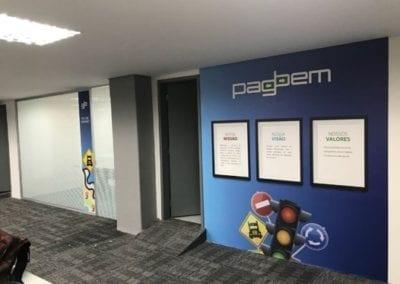 Sinalização - Central de atendimento PagBem