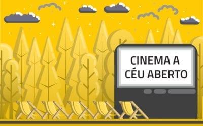 Cinema a céu aberto com tela gigante chega a São Paulo